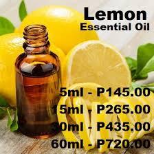 <b>Lemon Essential Oil</b> (<b>5ml</b> - 60ml) | Shopee Philippines