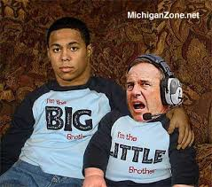 Image result for mark dantonio little brother