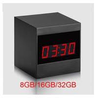 A10 <b>HD 1080P</b> Grain Infrared <b>Remote</b> Control <b>Alarm Clock</b> Camera ...