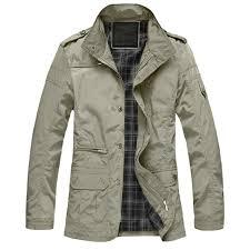 M <b>5XL Men</b> Big Size Casual Long Jacket <b>Spring Autumn Male</b> ...