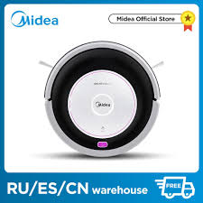 <b>Midea MR02 Robot Vacuum</b> Cleaner with 1000PA Suction ...