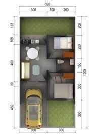 desain denah rumah tipe 36: 10 denah rumah tipe 36 sederhana minimalis