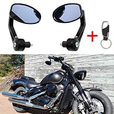 universal 7 8 22mm handle bar motorcycle end mirror motorcycle mirror for yamaha sj6n xj6 fz6 sj6s fz6s fz6 fazer