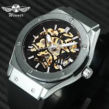 <b>WINNER Men Military Watches</b> 2019 Fashion Auto Mechanical ...