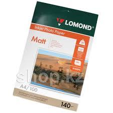 <b>Бумага</b> Lomond A4, 140г/м2, 100 листов, <b>матовая</b>, <b>односторонняя</b> ...