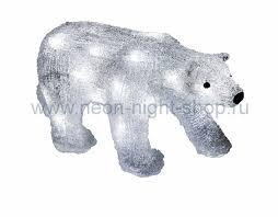 Neon-night Акриловая <b>светодиодная фигура</b> Медведь, 34 ...
