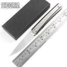 <b>DICORIA</b> perfect lines D2 <b>складной нож</b> с титановой ручкой для ...