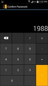 this innocent calculator is really a secret app safe for android step 2set your passcode