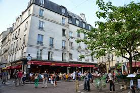 baugh s blog photo essay ernest hemingway the paris years cafeacute delmas in place de la contrescarpe