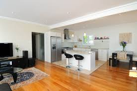 Living Room And Kitchen Kitchen Open Plan Living Combined Small Apartment Kitchen And