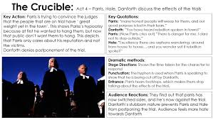 the crucible miss ryan s gcse english media act 4 1