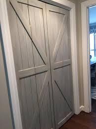 Closet Barn Doors Our Bi Fold Barn Doors Replace Your Laundry Pantry Or Closet