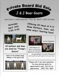 j j boer goats flyers 2011