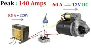 <b>12V</b> 60A <b>DC</b> from <b>220V</b> AC for High Current <b>DC</b> Motor 1000W ...