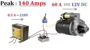 <b>12V</b> 60A <b>DC</b> from 220V <b>AC</b> for High Current <b>DC</b> Motor 1000W ...