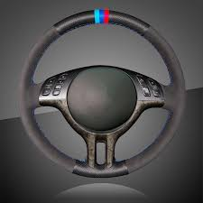 <b>Auto Braid On The</b> Steering Wheel Cover for BMW E39 E46 325i ...