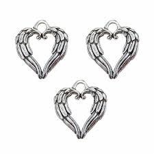 Crafts Charms & Pendants <b>30pcs Pack</b> Heart Shaped Animals ...