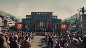 Image result for dystopia in the hunger games