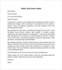 cover letter example for job      download free documents in wordbank job cover letter example