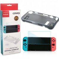 Набор <b>аксессуаров OIVO</b> Crystal Cover Kit (<b>Nintendo Switch</b>)