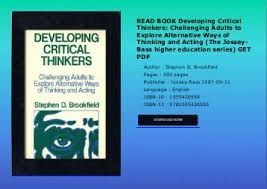 PDF  DOWNLOAD  Critical Thinking  Learn the Tools the Best