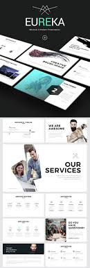 ppt templates for simple modern powerpoint presentations eureka minimal ppt template
