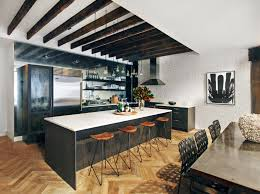 Modular Kitchen In Small Space Modular Small Kitchen Design Ideas With Brown Color And Wooden