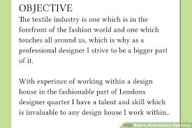 image titled write resume objectives step 6 what to say in a resume objective