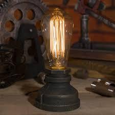 <b>Lighting Loft</b> E27 <b>Vintage Industrial Metal</b> Edison Desk <b>Lamps</b> ...