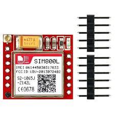 <b>SIM800L Mini GSM GPRS</b> Breakout Board, <b>GSM</b> General Packet ...