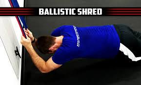 my plan fitness training video trainer ballistic shred digital trainer