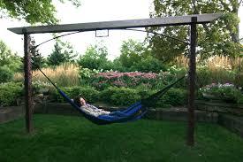 patio zig zag hammock stand contemporary