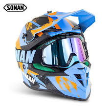 <b>New</b> SOMAN633 <b>motorcycle helmet off</b>-<b>road helmet</b> full cover ...