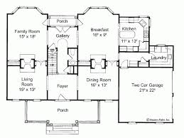 Eplans NeoClassical House Plan   Old Fashioned Country Splendor    Level