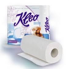 <b>Kleo Decor бумажные полотенца</b> двухслойные два рулона