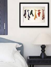 TC <b>E</b>-<b>HOME</b> Framed <b>Canvas</b> Art, Ballet Shoes Framed <b>Canvas</b> Print ...