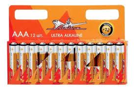 "<b>Батарейка</b> ""<b>AIRLINE</b>"" LR03/<b>AAA</b> (щелочная) (12 шт.) <b>AAA</b>-12 ..."