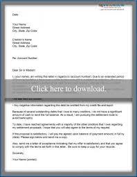 settlement letter from a debtor sample settlement letter