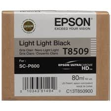 Original Ink Cartridge <b>Epson T8509</b> (C13T850900) (<b>Light light black</b>)