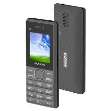 Мобильный <b>телефон Maxvi c9</b> grey/black (2 sim)