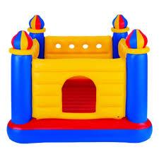 Надувной игровой центр <b>INTEX 48259</b> Манеж-<b>батут</b> Замок ...