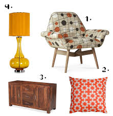 im a sucker for a bit of retro and theres something about that 70s print and orange that feels especially cosy at this time of year autumn furniture
