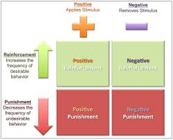 reinforcement theory psych work attitudes and job operant conditioning
