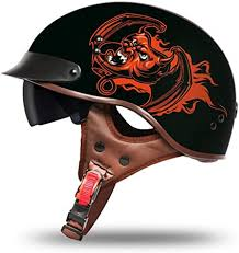 YGFS Four Seasons Motorcycle Helmets Male and ... - Amazon.com