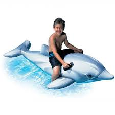 Каталог <b>Надувная игрушка</b>-наездник <b>INTEX</b> 58535 Дельфин от 3 ...