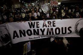 Resultado de imagem para charges - anonymous