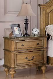 emily bedroom set light oak: emily night stand light oak md co  emily night stand light oak