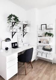 amy kims black and white home office packs a ton of style into a small space black white home office inspiration