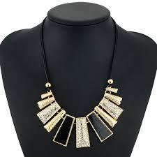 2017 Exaggerated <b>Bohemian Choker Necklace</b> Jewelry Irregular ...