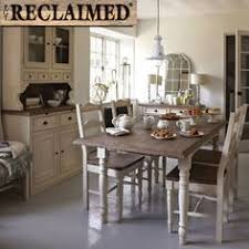 cream compact extending dining table: the carisbrooke extending dining room table reclaimed wood